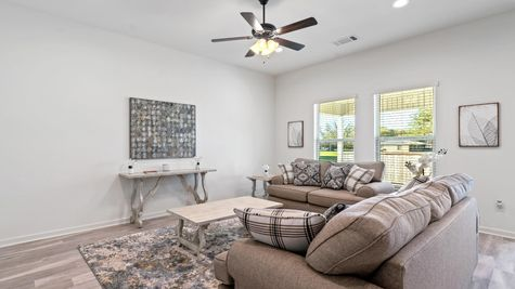 Moss Cove - Troy III G Floorplan - Living Room - Thibodaux, LA