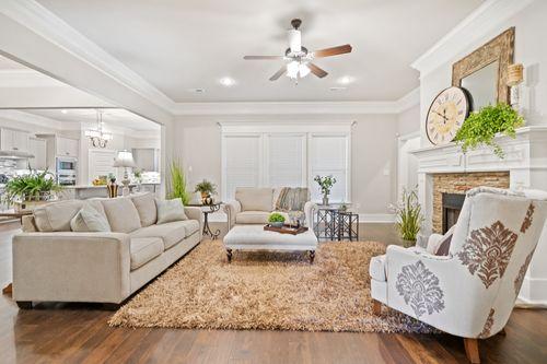 Phillips Cove - Model Home Living Room - DSLD Homes - Fillmore III H - Hunstville, AL