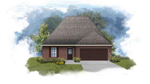 Navona III B - Front Elevation - DSLD Homes