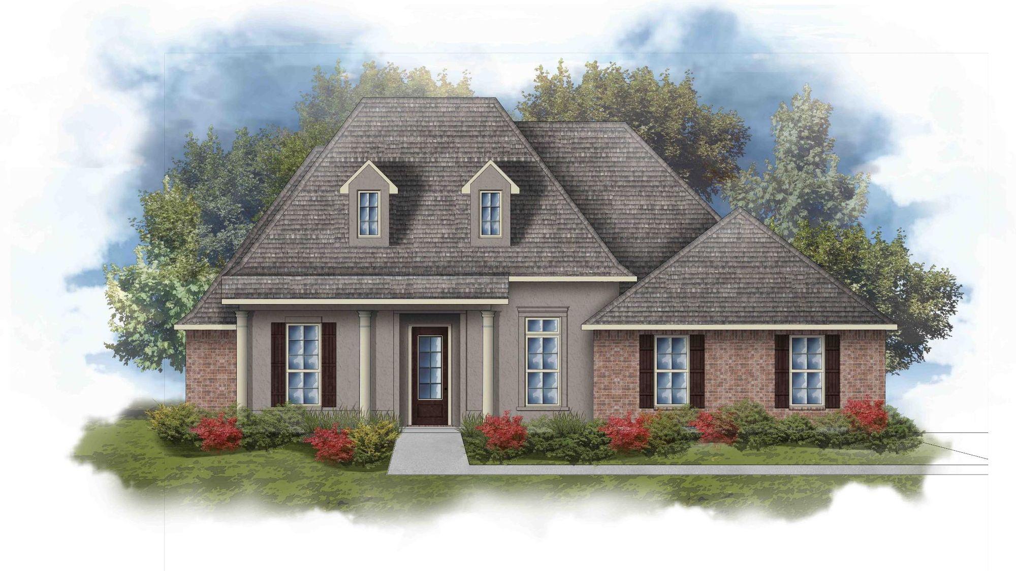 Rossi III C Open Floorplan Elevation Image - DSLD Homes