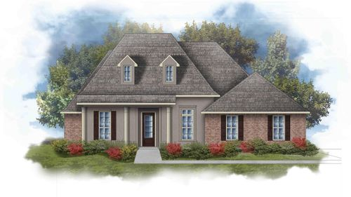 Rossi III C Open Floorplan Elevation Image - DSLD Homes