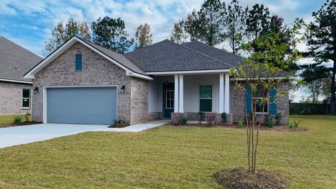 Lafayette Place Model Home- Alabama- DSLD Homes - Front of Home