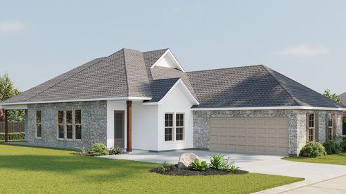 Alfani II B - Front Elevation - DSLD Homes