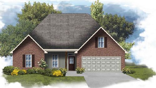 Carey IV H - Front Elevation - DSLD Homes