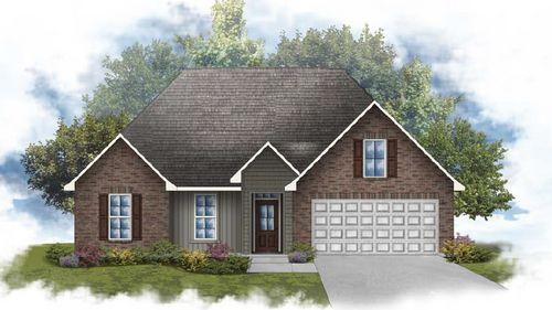 Ramsey IV H - Front Elevation - DSLD Homes