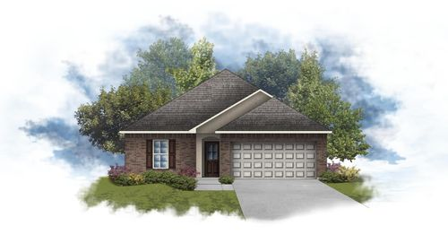 Plymouth III B - Front Elevation - DSLD Homes