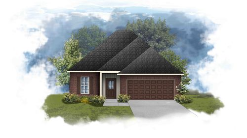 Dalton III H - Front Elevation - DSLD Homes