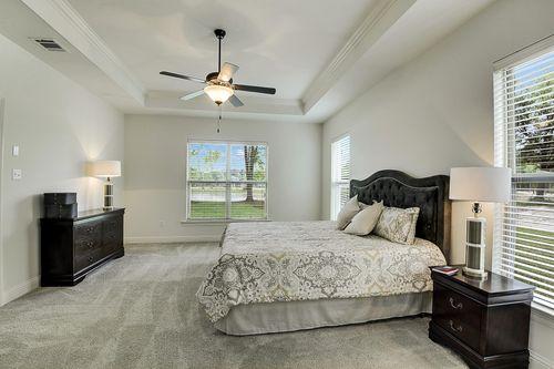 Spring Lakes - Model Home Master Bedroom - DSLD Homes - Deacon IV A - Covington, LA