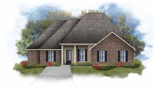 Chardin II A - Open Floor Plan - DSLD Homes
