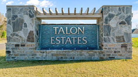 Community Entrance Sign - Talon Estates - Broussard, Louisiana - DSLD Homes