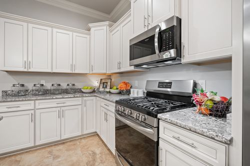 The Settlement at Live Oak - Model Home Kitchen - DSLD Homes - Renoir III C - Thibodaux, LA