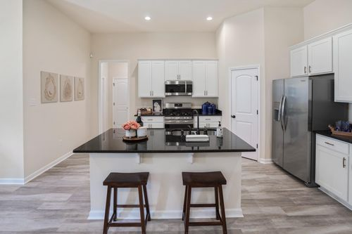 DSLD Homes - Rowland IV G - Oaklawn Trace - Model Home Kitchen