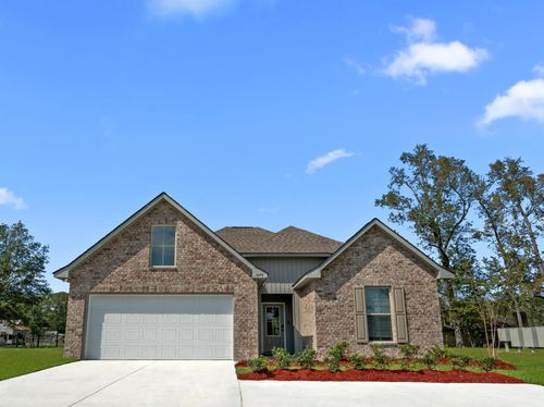 Cambre Oaks - DSLD Homes - Model Home Exterior - Gonzales, LA - Liberty IV H