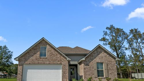 DSLD Homes - Liberty IV H - Cambre Oaks - Gonzales, LA - Model Home Exterior