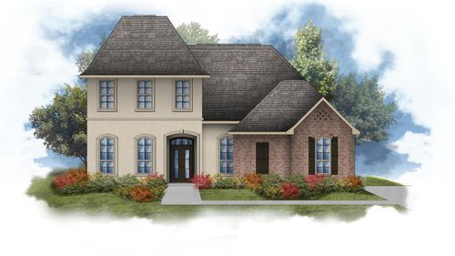 Bewick II A - Open Floor Plan - DSLD Homes