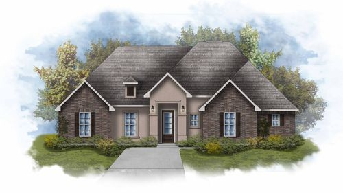 Cezanne III A - Front Elevation - DSLD Homes