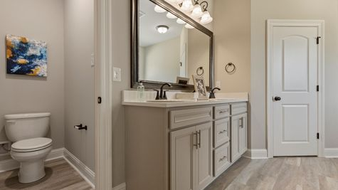 DSLD Homes- Hidden Lakes Estates- Denham Springs- Master Bathroom