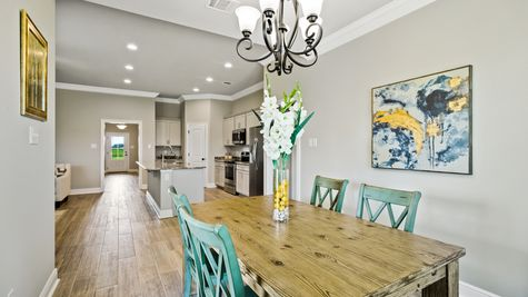Dining Room - Orleans Run - DSLD Homes Lake Charles