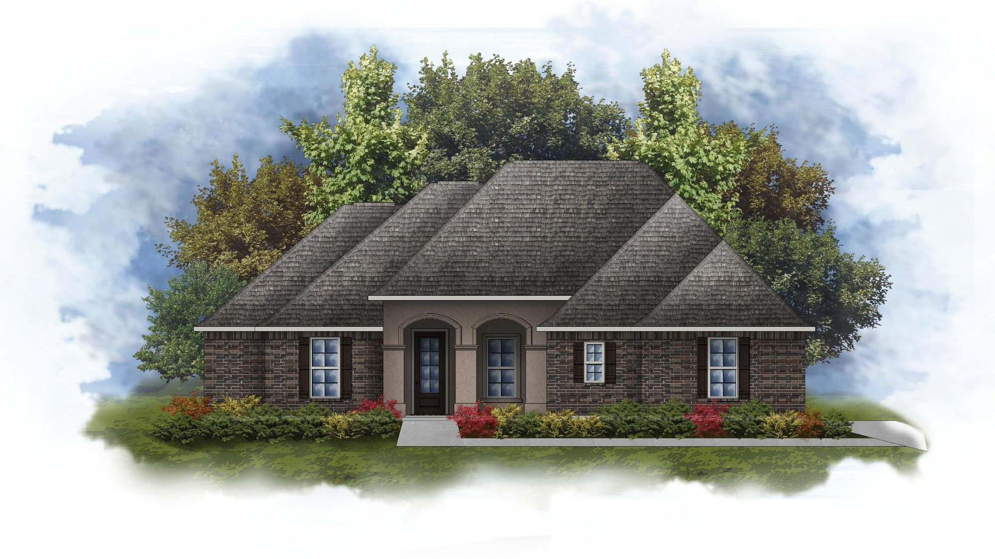 Keely II A - Open Floor Plan - DSLD Homes