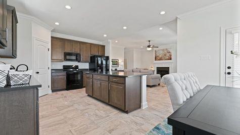 Porter's Cove Model Home - Cognac IV B Floor Plan - DSLD Homes