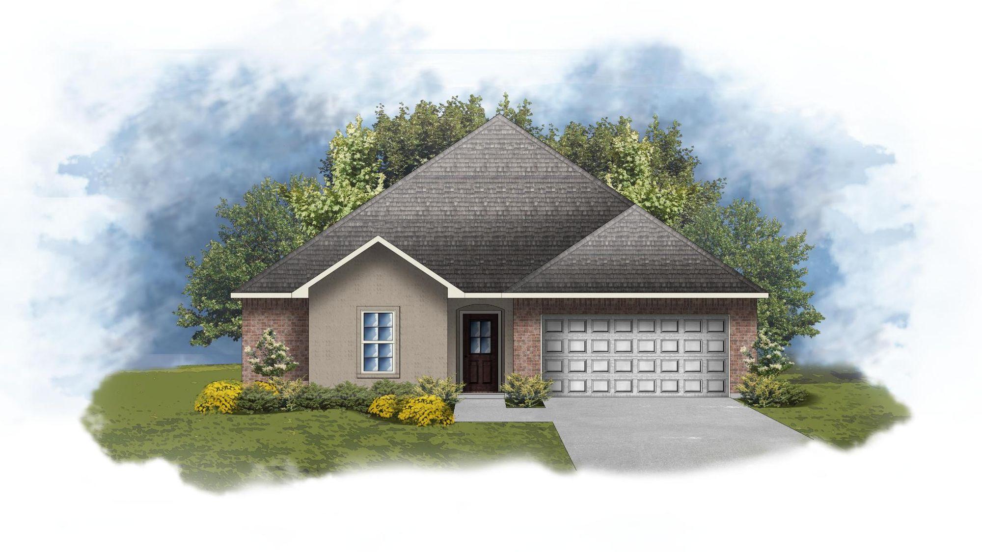 Hughes IV B - Open Floor Plan - DSLD Homes