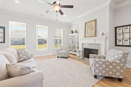 The Cove at Morganfield - Model Home Living Room - Ketty II A - Lake Charles, LA