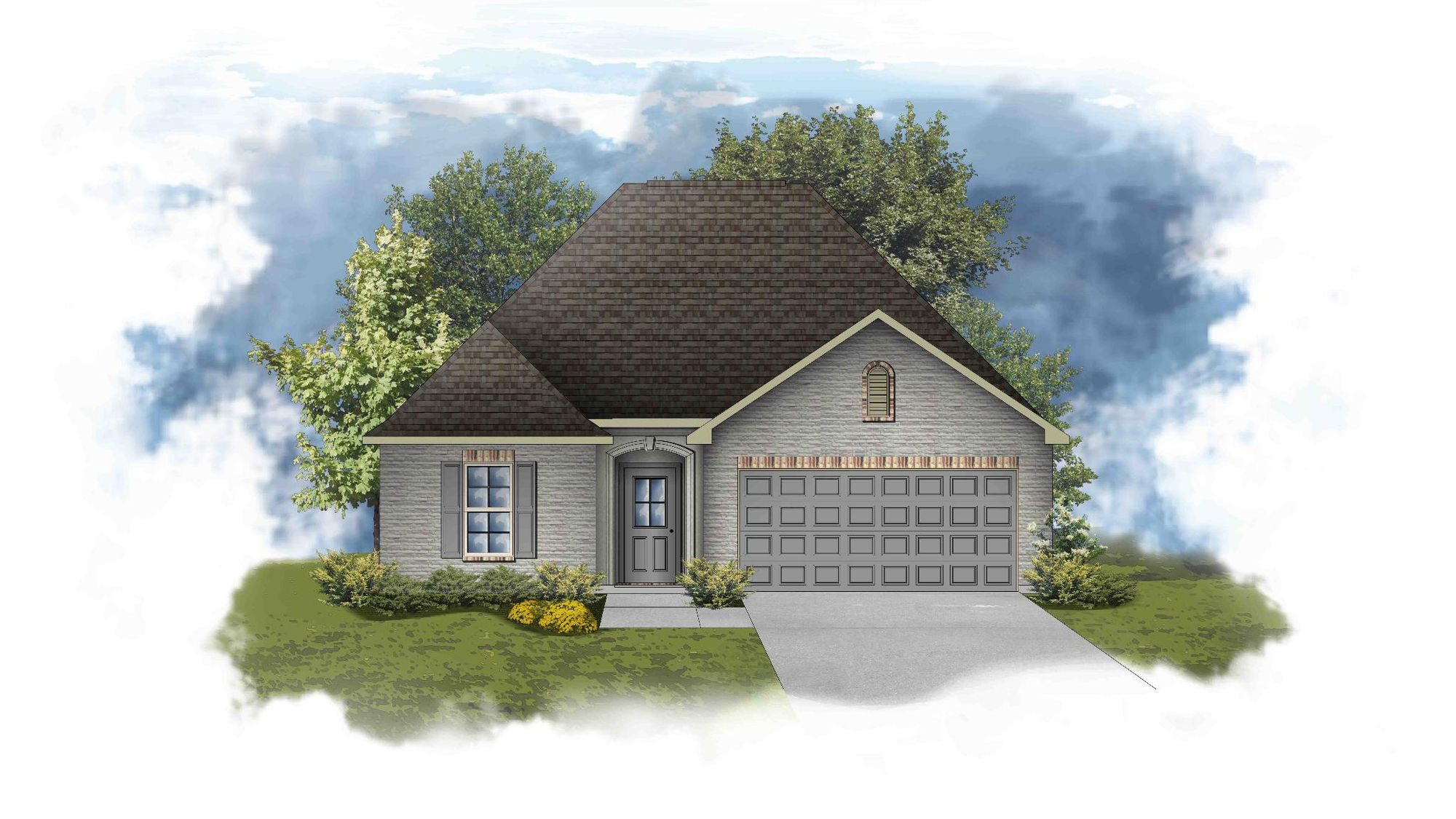 Chantilly III A - PB - Open Floor Plan - DSLD Homes