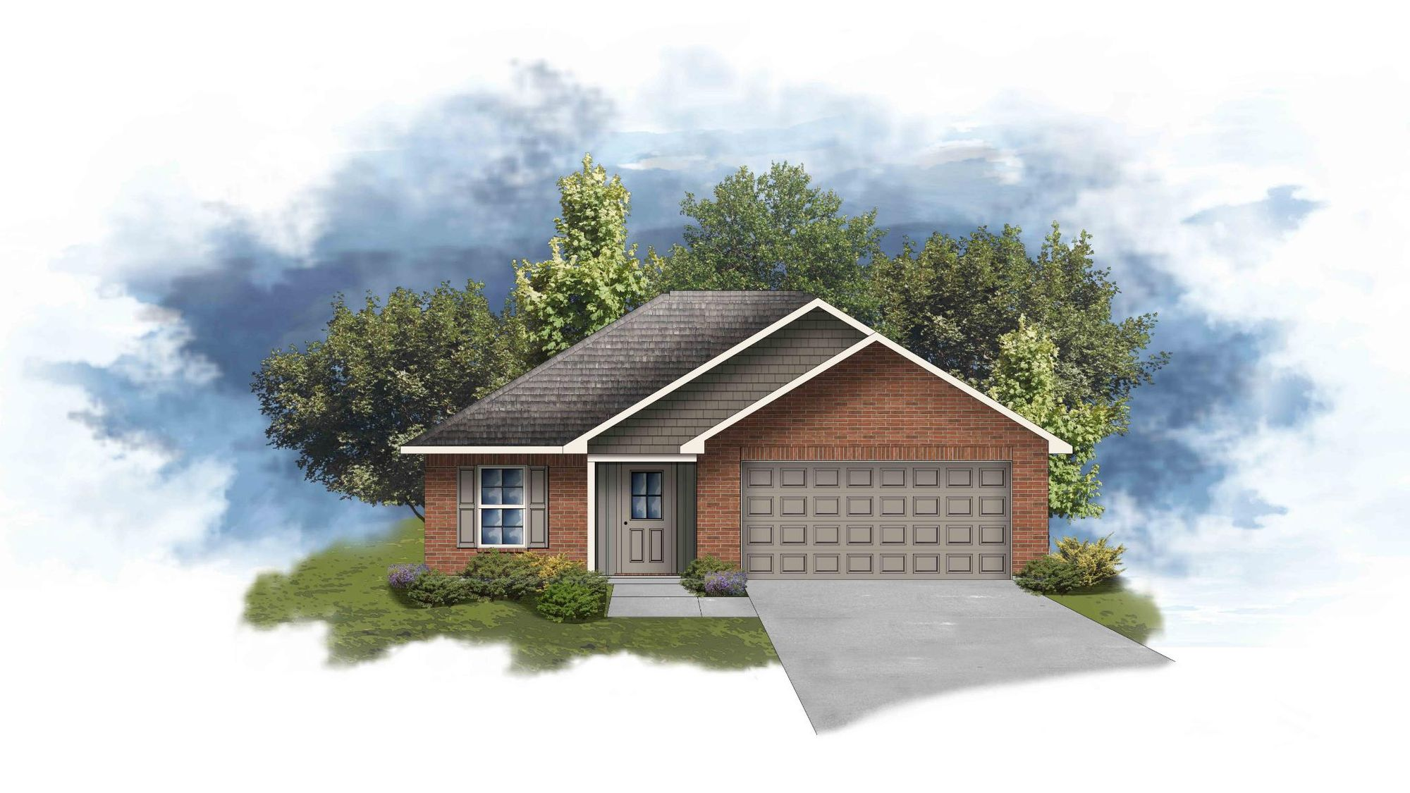 Denton III G - Open Floor Plan - DSLD Homes