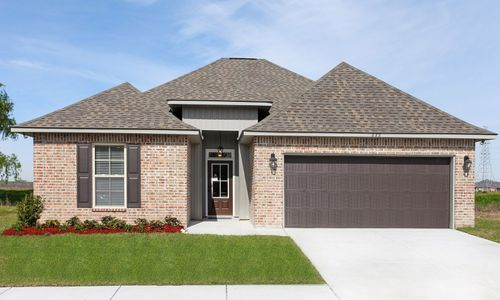 Ashton Oaks - Model Home Exterior - DSLD Homes - Liberty IV A - Luling, LA