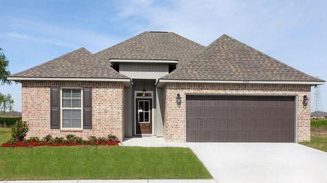 DSLD Homes - Liberty IV Open Floorplan Front Elevation Image
