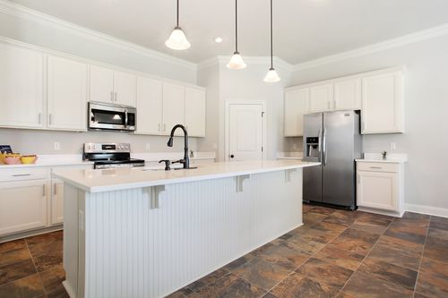 Nature's Trail - Model Home Kitchen - DSLD Homes - Coolidge III B - Biloxi, MS