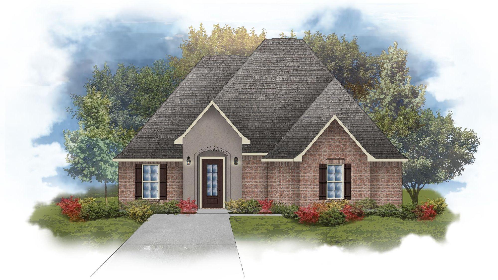 Lombardo III A - Open Floor Plan - DSLD Homes