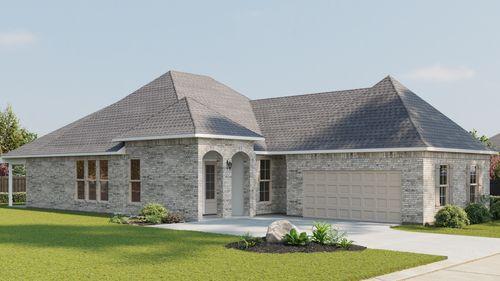 Ricci II B - Front Elevation - DSLD Homes