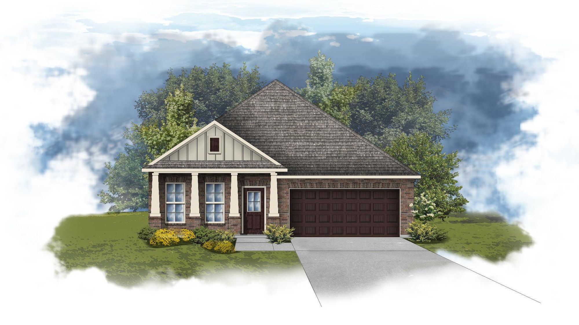Oakdale II A - Open Floor Plan - DSLD Homes