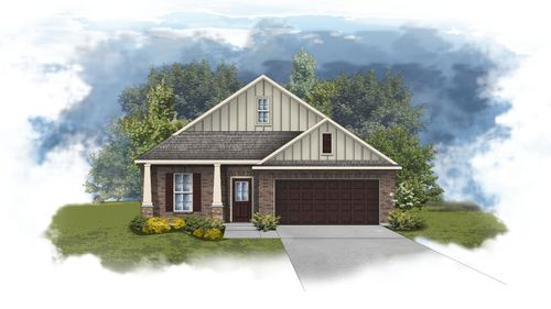 Norwood II A - CY - Open Floor Plan - DSLD Homes