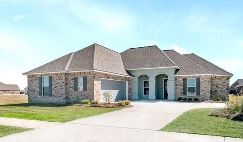 The Cove at Morganfield - Model Home Exterior - Ketty II A - Lake Charles, LA