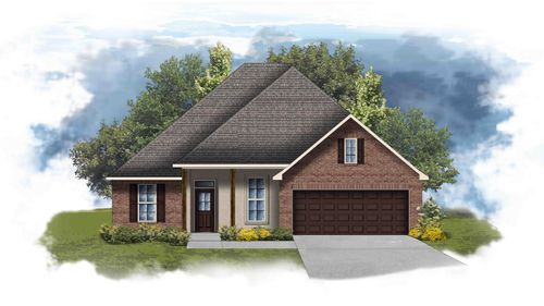 Hickory II B - Open Floor Plan - DSLD Homes