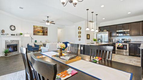 Dining Room - Hatten Farms - DSLD Homes Gulfport