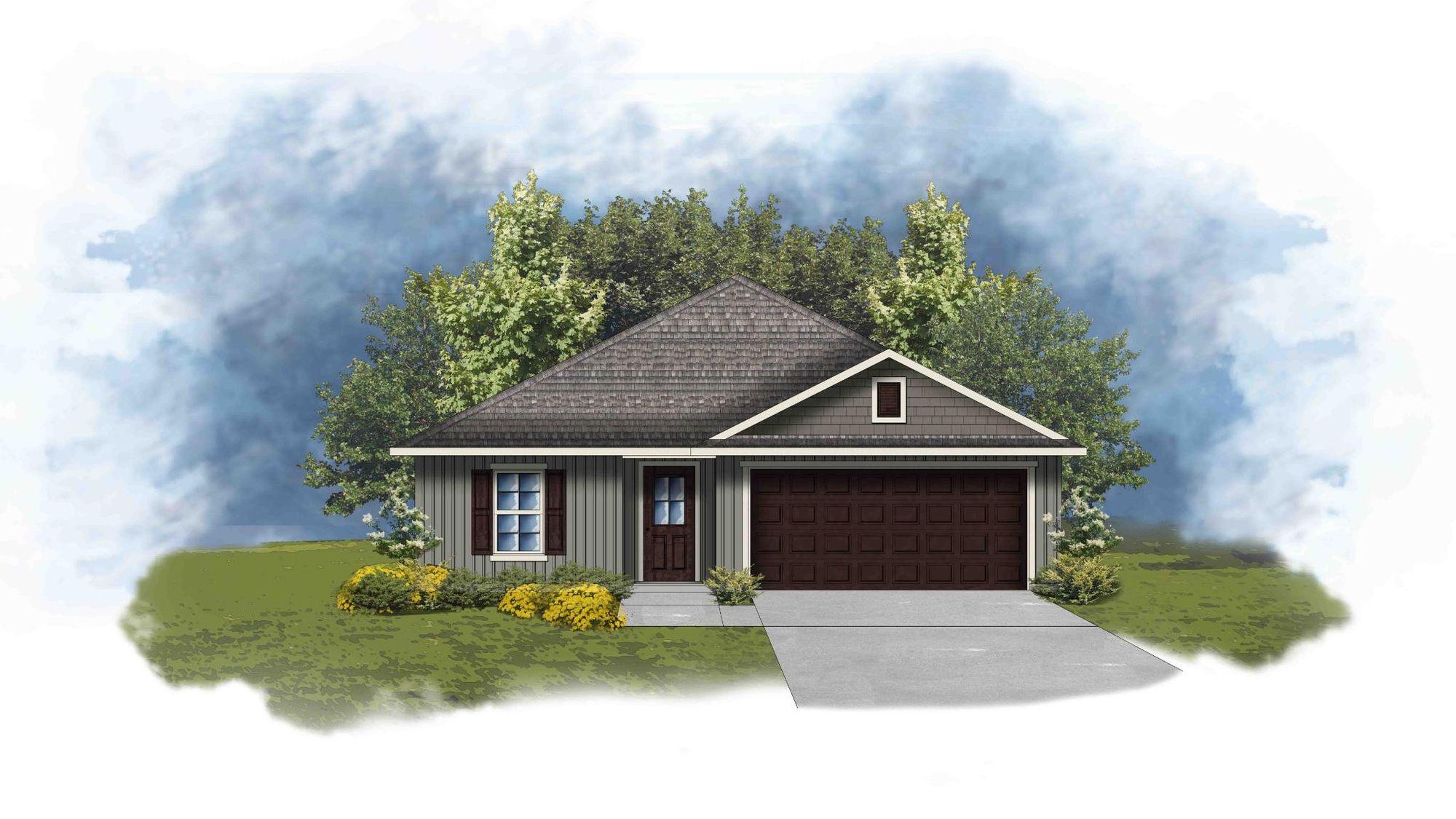 Avery III G Open Floor Plan - DSLD Homes