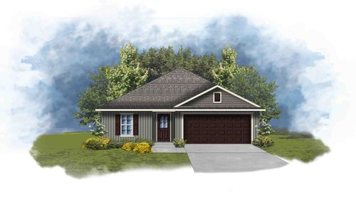 Avery III G Open Floor Plan - DSLD Homes
