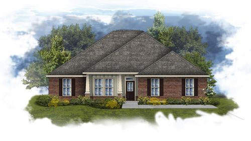 Ivanhoe II A - Huntsville - Open Floor Plan - DSLD Homes