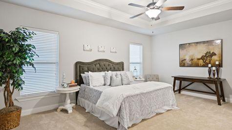 Renoir III C Plan - The Settlement at Live Oak Professional Images - Master Bedroom Suite - DSLD Homes