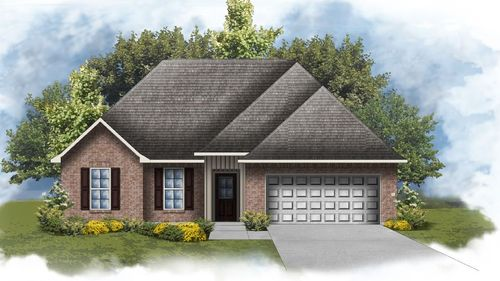 Raleigh IV H - Open floor plan - DSLD Homes