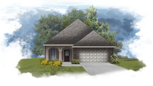 Frazier IV A - Front Elevation - DSLD Homes