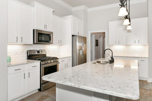 Sawyer's Ridge - Model Home Kitchen - DSLD Homes - Chardin II C - Cantonment, FL