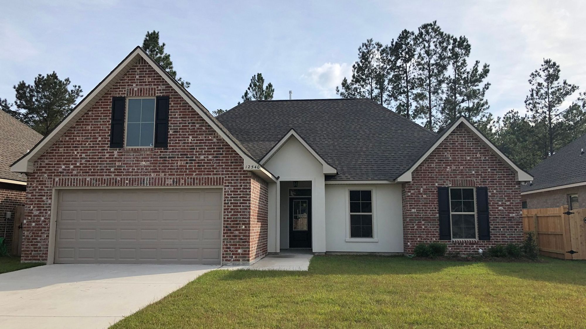 Front View - Ramsey IV B - Goodbee Square Community - DSLD Homes Covington