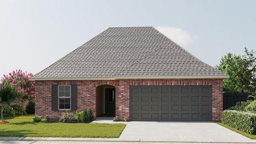 Norris III B - Front Elevation - DSLD Homes