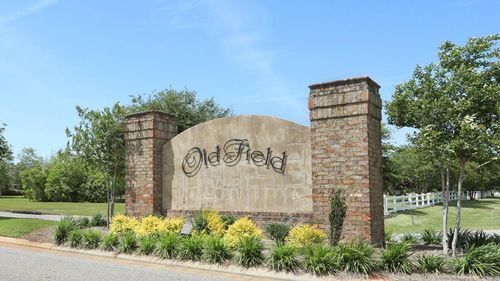 Community Sign  - DSLD Homes - Daphne - Old Field