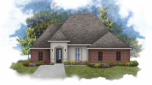Claudet II A - Open Floor Plan - DSLD Homes