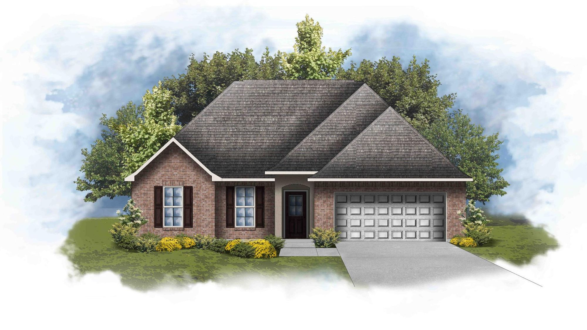 Redwood IV B - Open Floor Plan - DSLD Homes